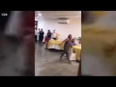 Незваная гостья пыталась остановить свадьбу и признавалась жениху в любви