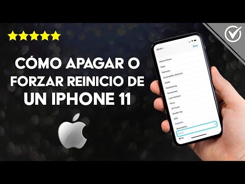 Cómo Apagar o Forzar Reinicio de un iPhone 11 Pro Max, XR, XS si se Trabó y no Responde