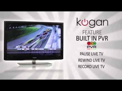 Kogan LED & LCD TV Feature Video - PVR (Pause, Rewind, Record Live TV)