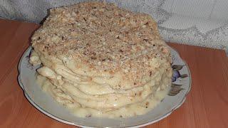 Как приготовить идеальный торт Наполеон Очень вкусный крем и коржи Торт Наполеон пальчики оближешь