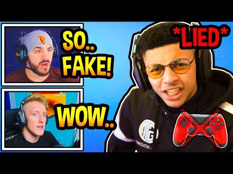 Streamers UPSET After Myth *LIES* & *OFFENDS* All CONSOLE Players! (Fortnite Moments)