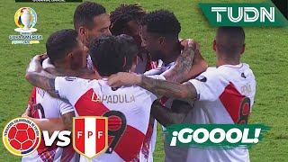 ¡Qué hizo! AUTOGOL de Yerry Mina   Colombia 1-2 Perú   Copa América 2021   Grupo A-J3   TUDN