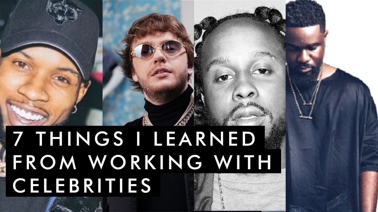 7 Things I Learned From Working With Celebrities