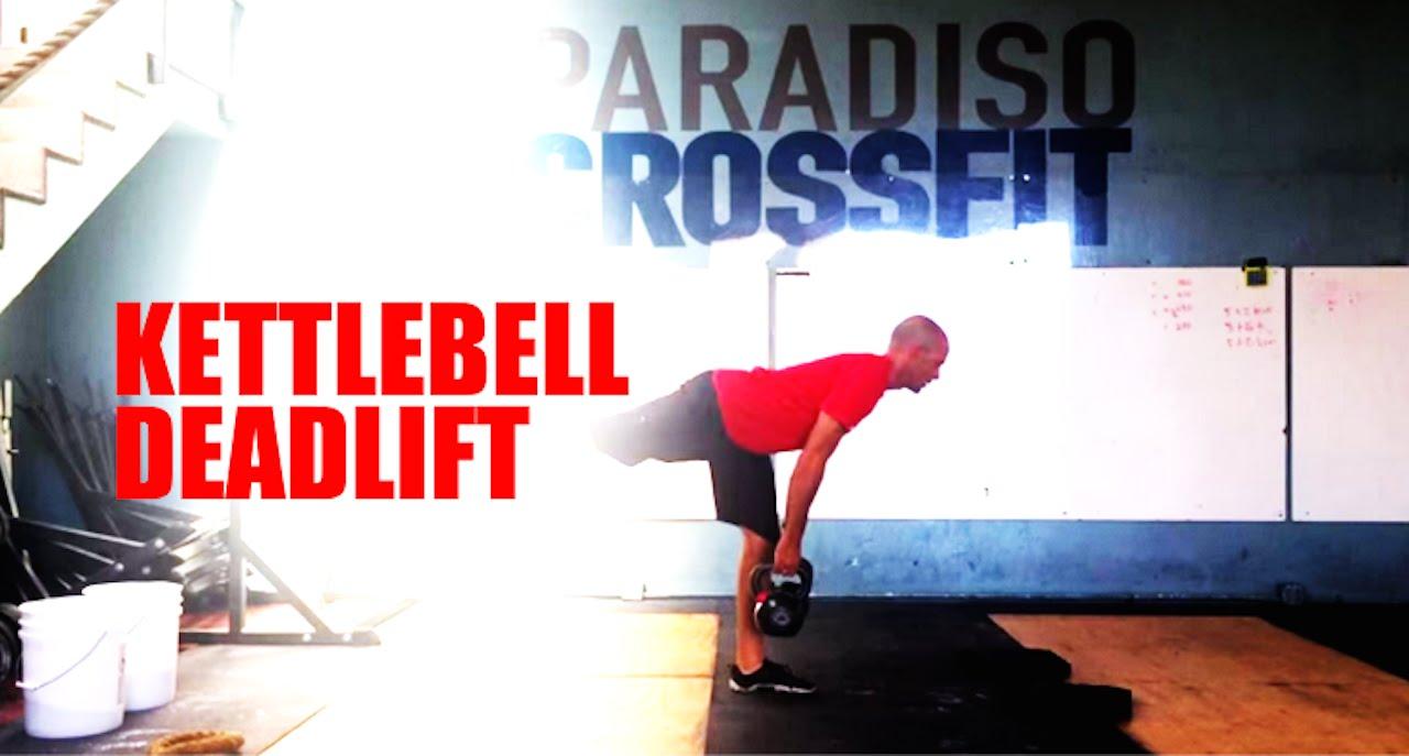 Single Leg Kettlebell Deadlift Paradiso Crossfit Youtube