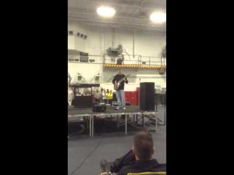 Keith's Intro USS John C. Stennis Music Event