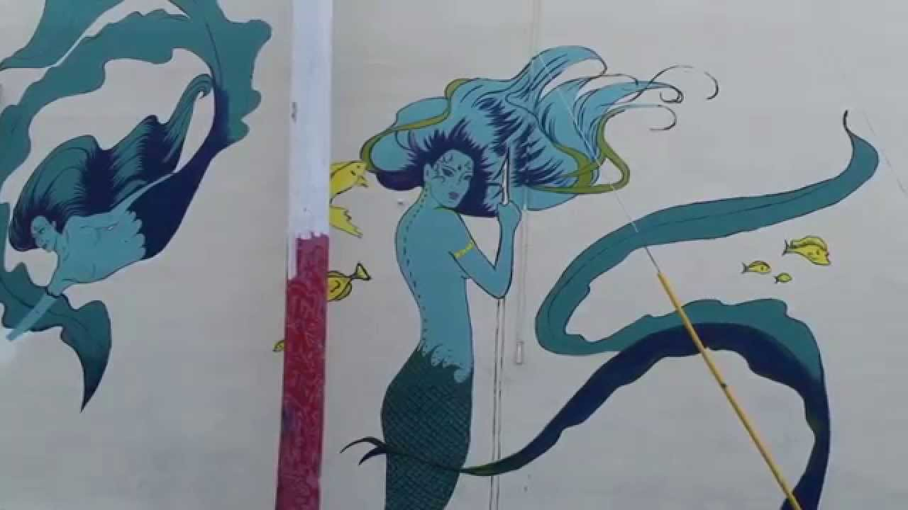 mermaid graffiti Gallery