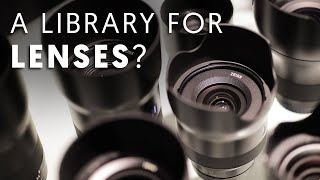 What is Lens Library? How Does It Work? (Tour Vlog!)