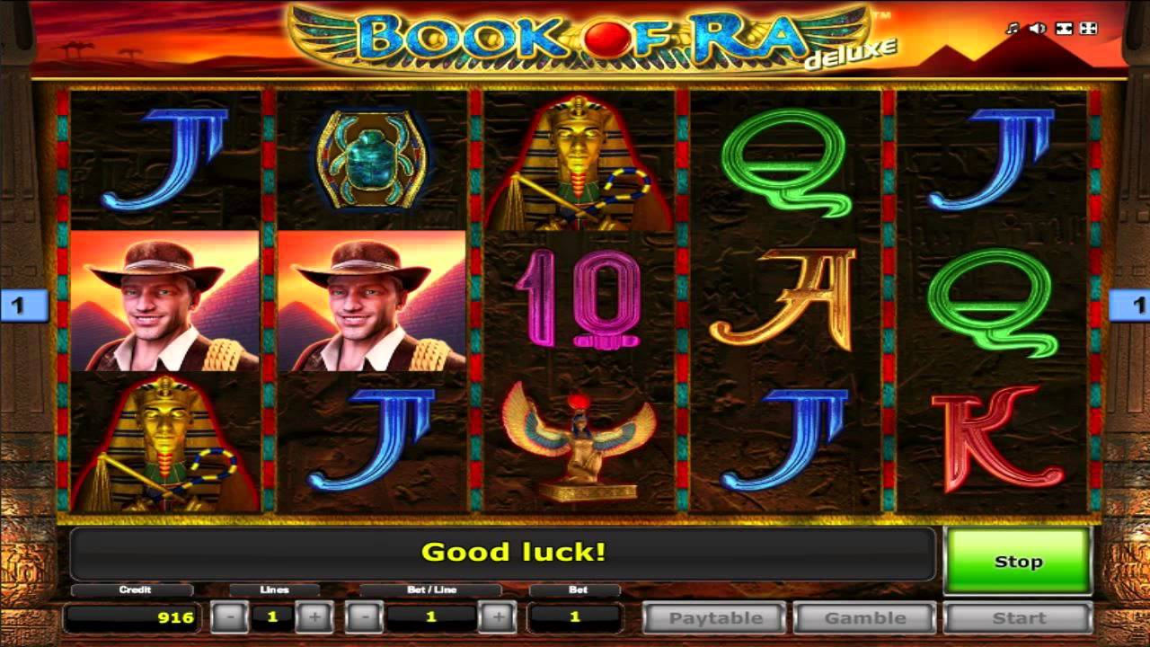 Free Book Of Ra Slot Machine