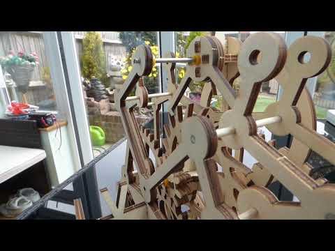 ROKR WOOD GEARED CLOCK KIT