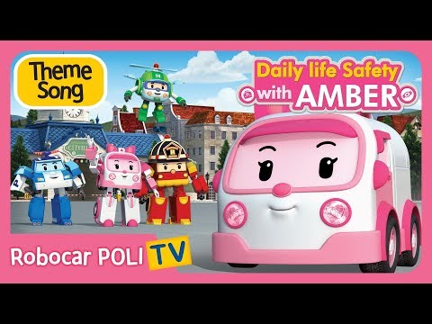 🎵 Daily life Safety with AMBER | Theme Song
