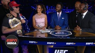 Download Colby Covington, Kamaru Usman get heated during UFC Fight Night Post Show   ESPN MMA Mp3 and Videos
