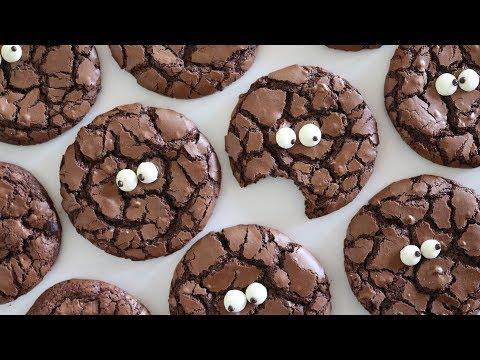 [Eng Sub] 예쁜 크랙 만드는 꿀팁!! 브라우니 쿠키 만들기 Brownie crinkle cookies|자도르