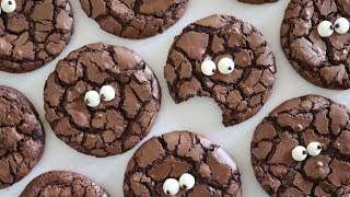 [Eng Sub] 예쁜 크랙 만드는 꿀팁!! 브라우니 쿠키 만들기 Brownie crinkle cookies 자도르