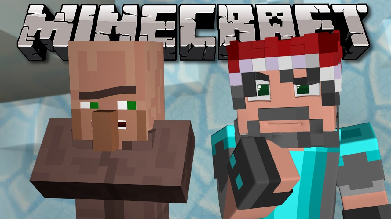 Christmas Calendar Minecraft : Minecraft pushing the villager christmas advent