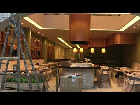 Restaurante da família de Cristiano Ronaldo em Gramado - primeiras imagens de como vai ficar o local