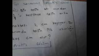 TEL SORULARI PRATİK YÖNTEM-1
