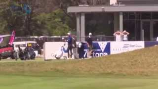 Richard Green Hole in One Albatross at Oates Vic Open Pro-Am - Amazing golf shot