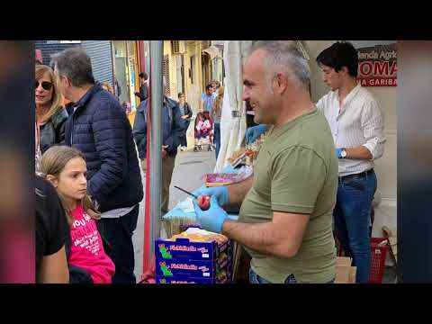 Roccapalumba, la 20^ sagra del ficodindia, 18/20 ottobre 2019, festa folkloristica in Sicilia.
