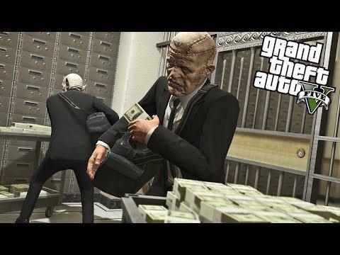 GTA 5 BIG BANK ROBBERY (GTA 5 Mods)