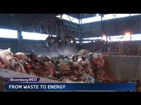 Turning Trash into Electricity