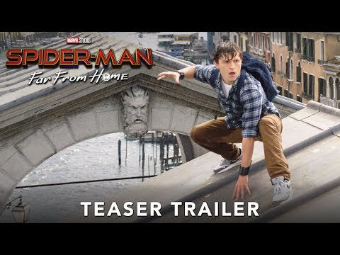 Scotty B - Tom Holland Meets Nick Fury & Mysterio in Spider-Man: Far From Home Peak
