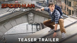 SPIDERMAN FAR FROM HOME  Official Teaser Trailer video
