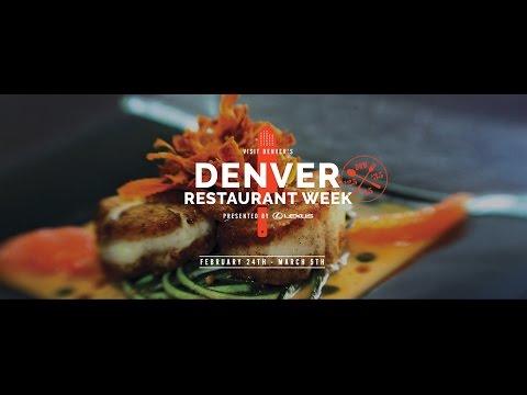 Denver Restaurant Week 2017