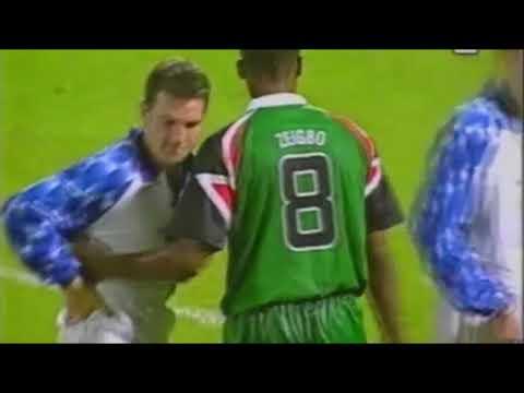 Legia 4-0 Glenavon Lurgan 1997