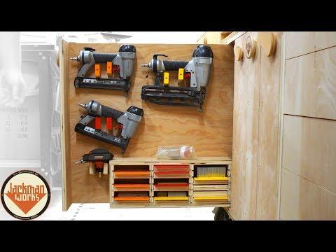 Vertical Tool Storage Drawers / Moving Tool Walls