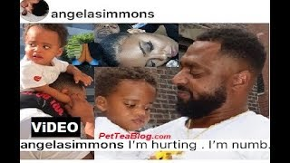"Angela Simmons Reacts to Baby Father Passing! Shares Video ""I'm Numb!"" ❣️"