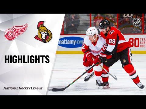 NHL Highlights   Red Wings @ Senators 2/29/20