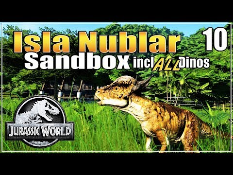 Let's build the Ultimate Dino Park | with ALL dinosaurs | Sandbox | Jurassic World Evolution | Ep.10