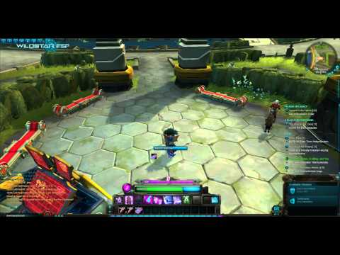 Wildstar: Dominion Capital City Illium (beta client)