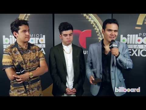 3Ball MTY Backstage Q&A At The Billboard Mexican Music Awards 2013