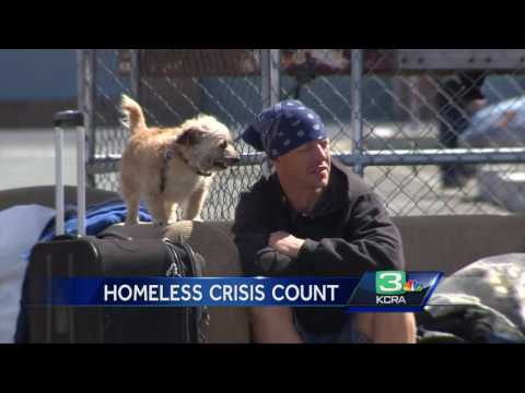 Sacramento's homeless population increases by 30%