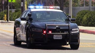 CHP New Dodge Charger Responding