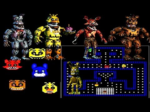 Five Nights At Freddy's 4: Pac Man [Jumpscares]