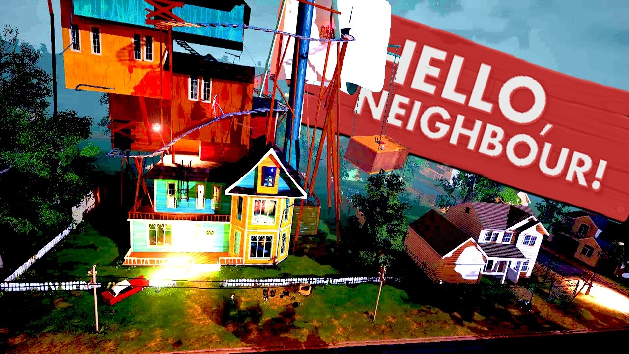 The hello neighbor house - Turning On The Power The Second Floor Hello Neighbor Update Hello Neighbour Alpha 3 Gameplay Youtube