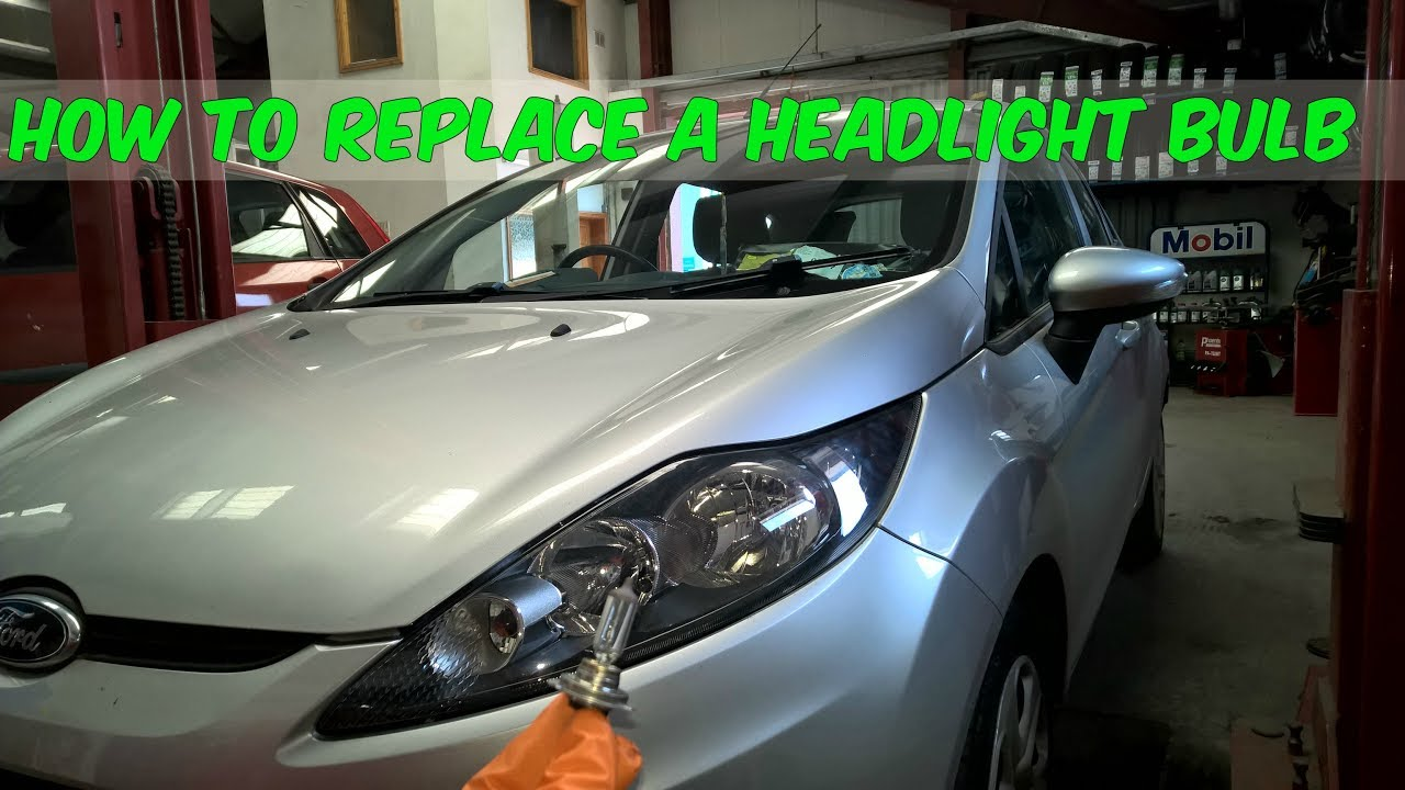 How To Replace A Headlight Bulb In Ford Fiesta Youtube. How To Replace A Headlight Bulb In Ford Fiesta. Ford. 2013 Ford Fiesta Headlight Diagram At Scoala.co