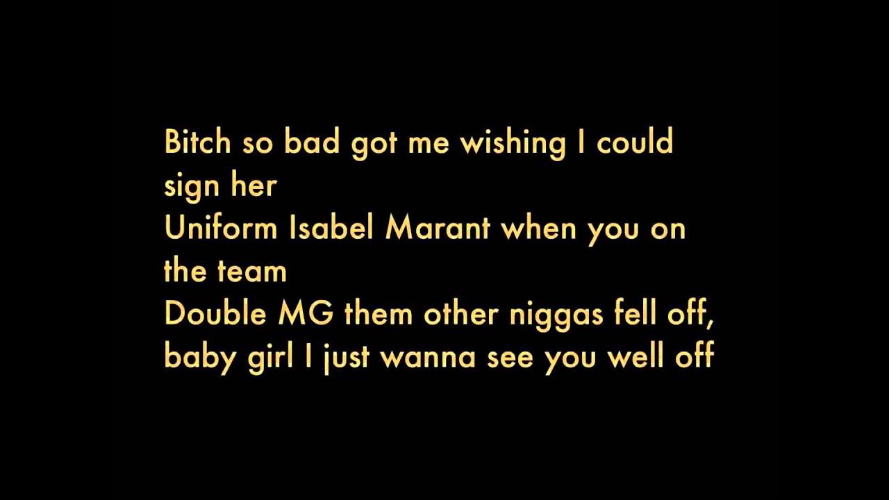 Rick Ross - Diced Pineapples Ft. Drake & Wale (Explicit) Lyrics | wale aston martin lyrics