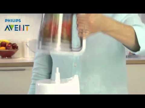 Philips avent robot de cocina vaporera y batidora for Robot de cocina batidora