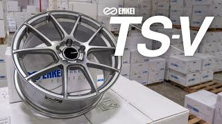 homepage tile video photo for A quick look at the Enkei TS-V Tuning Series wheels