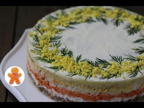 Салат Мимоза по Маминому Рецепту ✧ Творческий Конкурс от Luminarc
