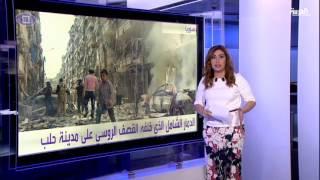#أنا_أرى جولة في أحياء حلب بعد الغارات الروسية