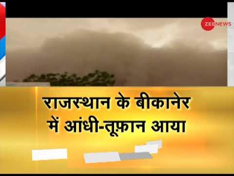 Dust storm, thunderstorm in Rajasthan; rain alert for Delhi-NCR
