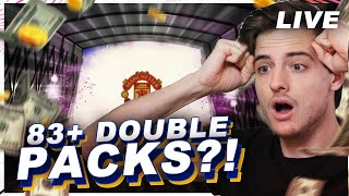 83+ DOUBLE MIDDENVELDERS PACKS & UPGRADES!!!!  || FIFA 21 Nederlands LIVE