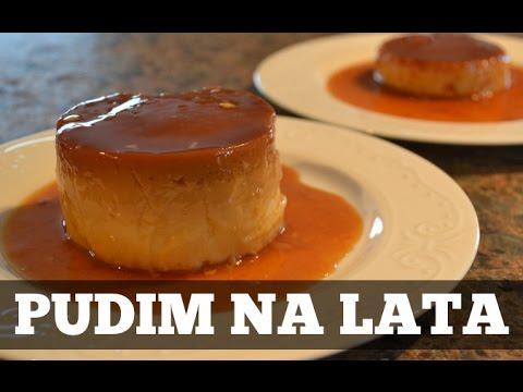 Pudim Na Lata Pudding In Can