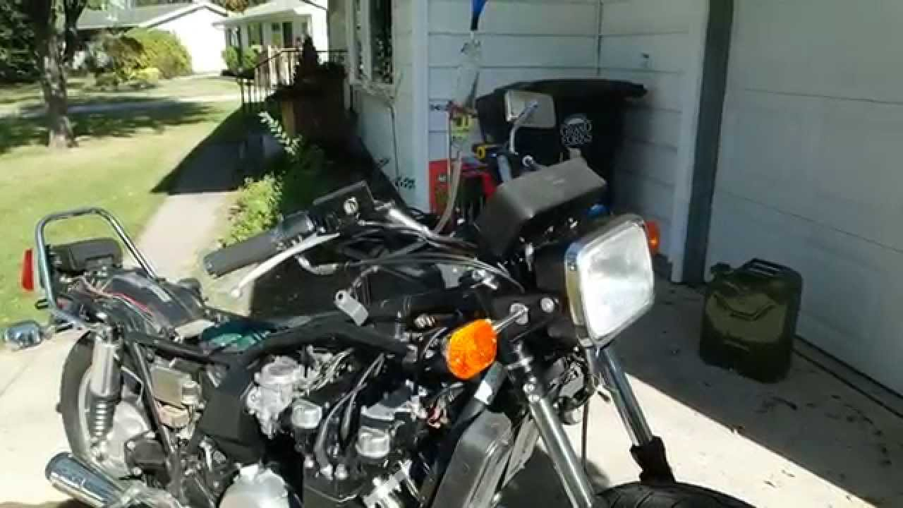 Kz1300 running after carb sync by thefathomlessblue