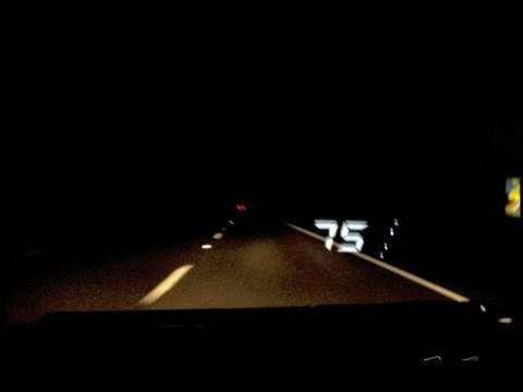 ANDROID-SPEEDOMETER APP ( w/ HUD WINDSHIELD DISPLAY ) - Hands On Review