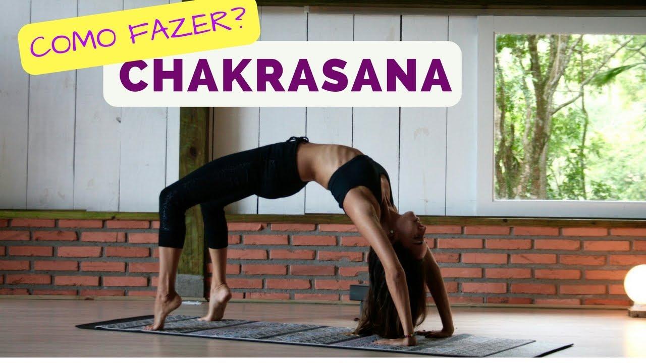 Muitas vezes Chakrasana - como fazer a postura da roda ou ponte - YouTube MY86